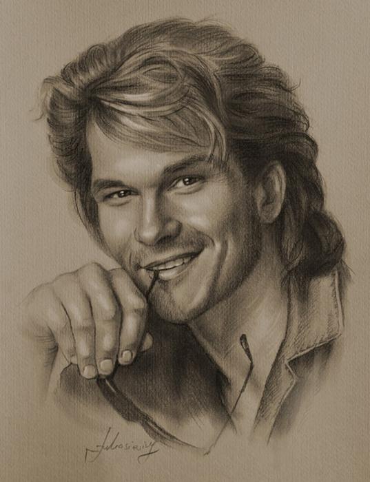 портреты простым карандашом14 (537x700, 242Kb)