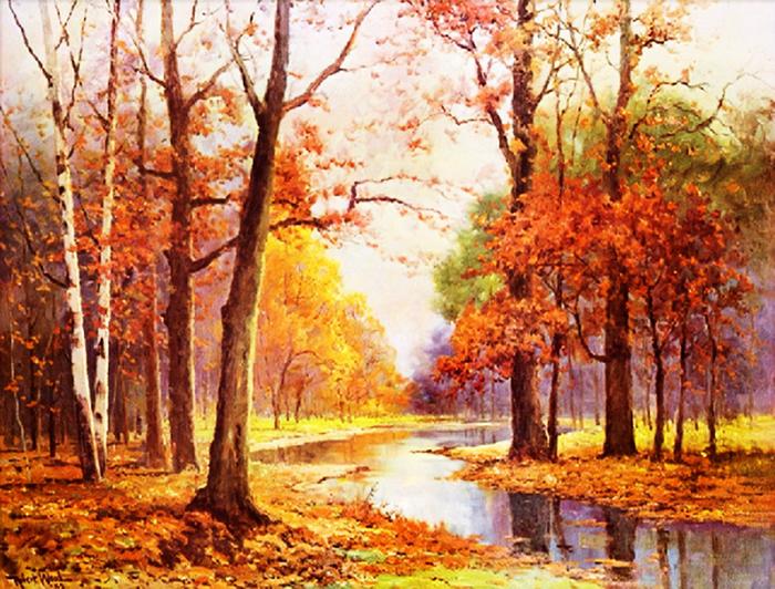 Художник осень рисовал Обсуждение на Liveinternet