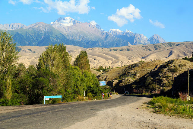 фото киргизии горы