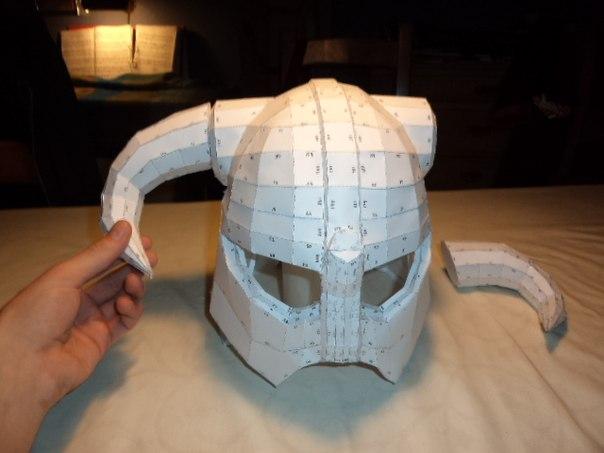 Как сделать шлем богатыря с бумаги
