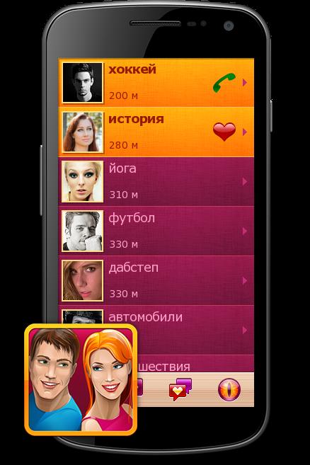 Сервисы мобильных знакомств