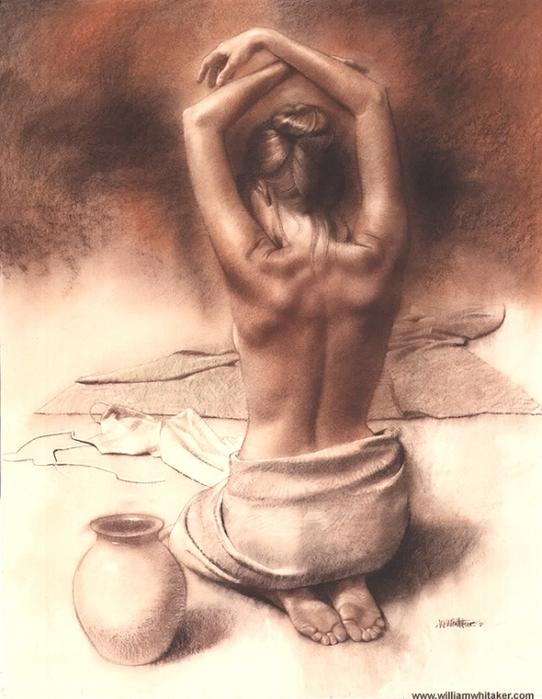красивые рисунки голых женщин-вш3