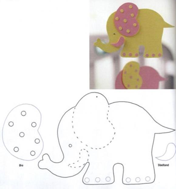 слон для сенсорной книжки (580x621, 22Kb)