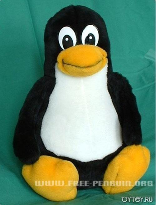 Шьем игрушки. Пингвин Linux.
