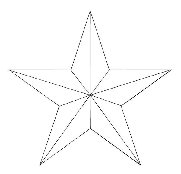 Звезда на елку своими руками шаблоны