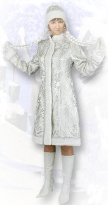 Как быстро сделать костюм снегурочки своими руками