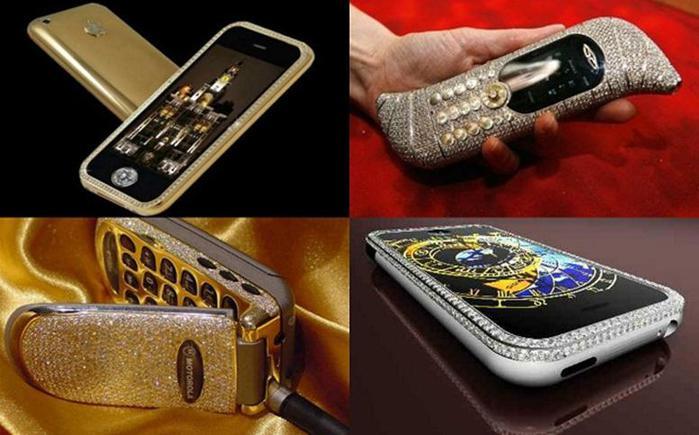 10 самых дорогих мобильных телефонов Фотографии