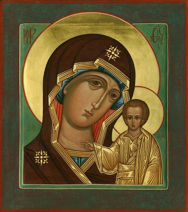 Слушать молитву казанской матери