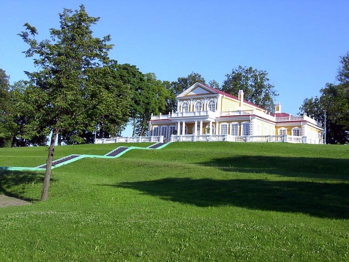 деревянный дворец Петра I (700x525, 176Kb)