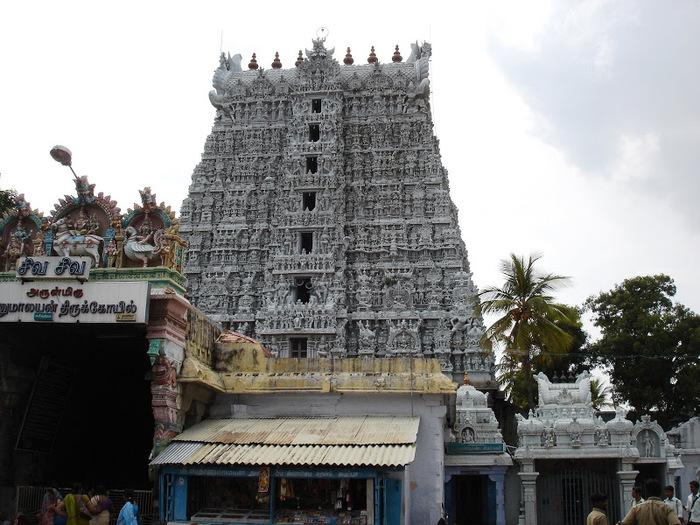 Сучиндрам (Suchindram temple) – храм всех Учителей. 86945