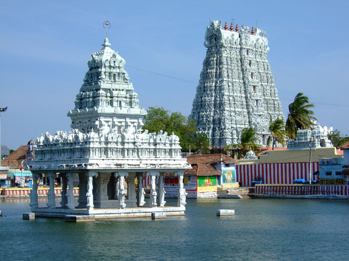Сучиндрам (Suchindram temple) – храм всех Учителей. 92866