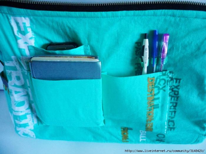 Ремонт подкладки сумки своими руками 61