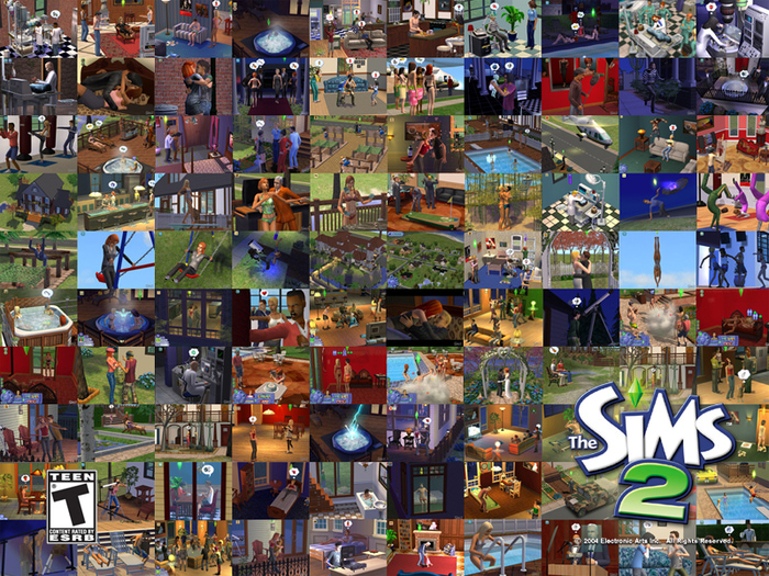 Sims 2 crfxfnm 5 фотография