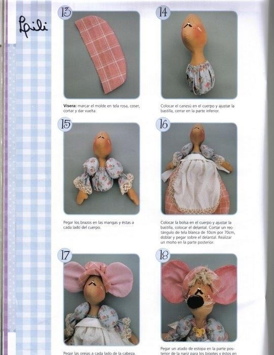 Кукла пакетница своими руками выкройки 27
