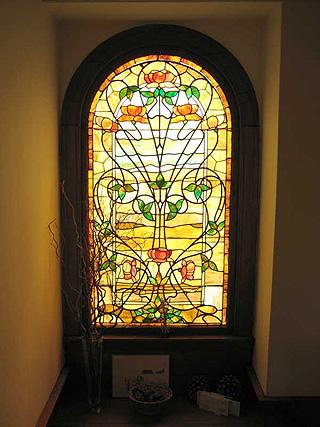 витражное стекло - Город бисера.
