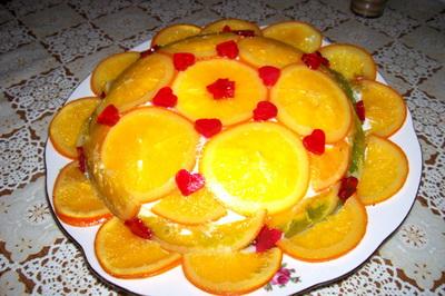Пирог с апельсинами (400x266, 64Kb)