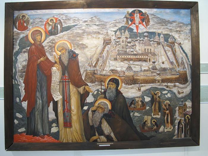 Соловецкие святые (700x525, 125Kb)