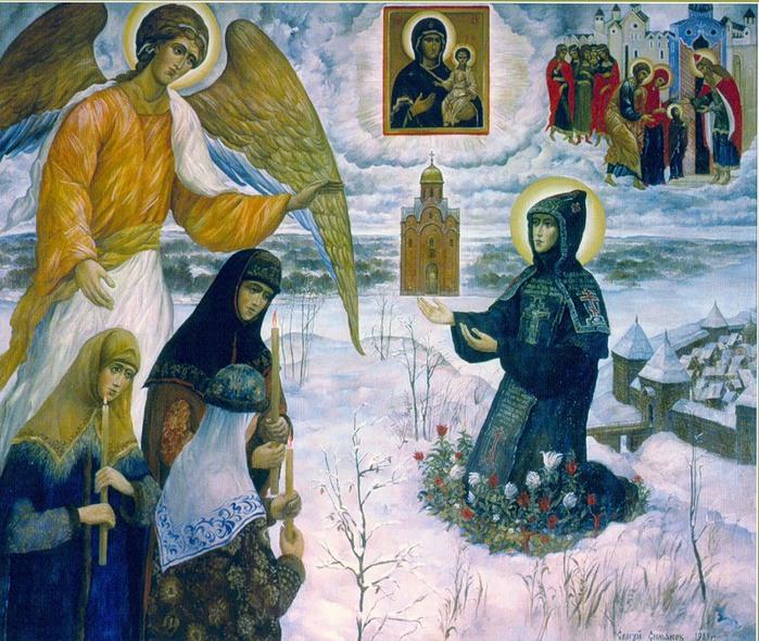 Ефросиния Полоцкая (700x590, 172Kb)