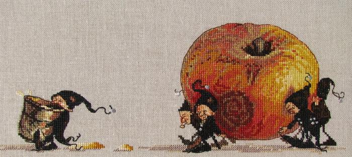 Для вышивания гномов