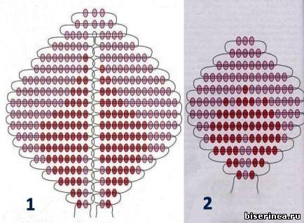 rozi-iz-bisera-shema (434x318, 40Kb)