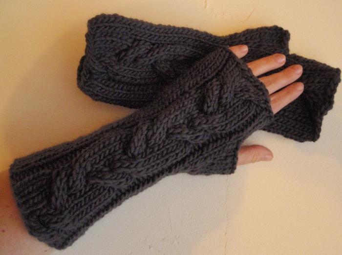 Митенки - перчатки без пальцев