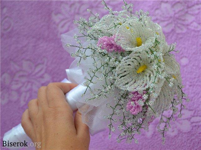 Цветы из бисера | Записи в
