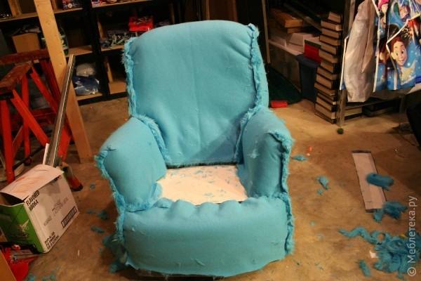 Как сделать стул мягкий