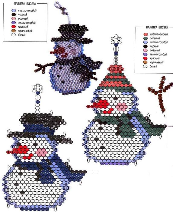 snegovik-iz-bisera (573x700,