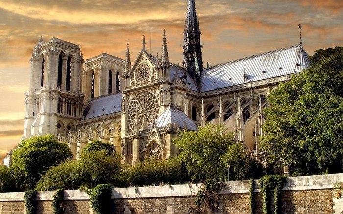 Собор парижской богоматери париж