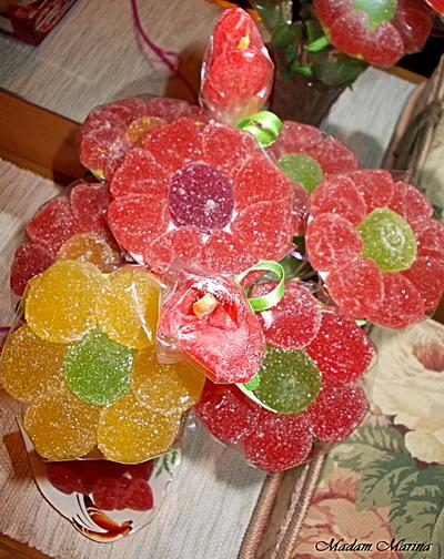 Игрушки из конфет на ёлку своими руками - можно съесть!