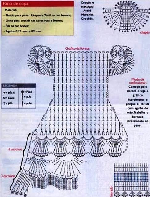 Вязание куклам крючком наряды