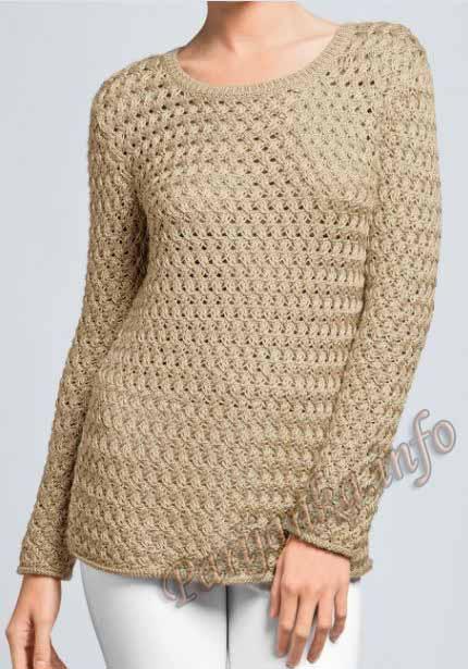 С чего вяжут свитера