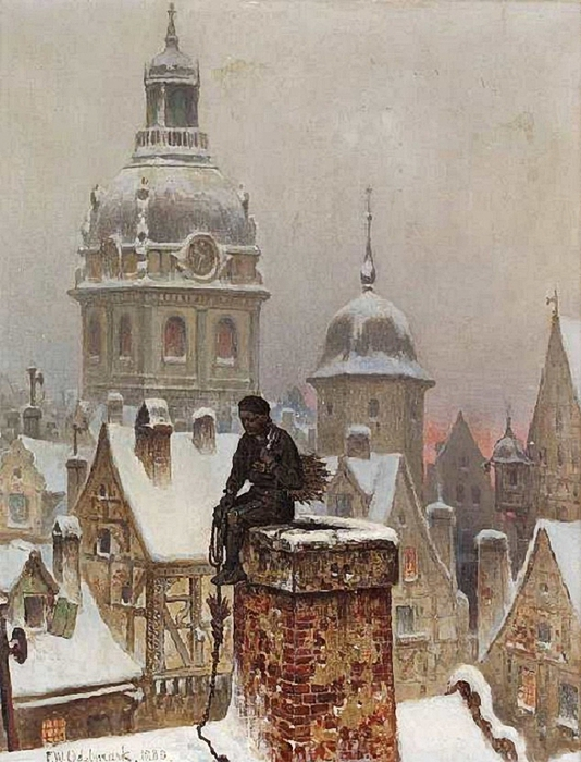 Frans Wilhelm Odelmark .1849-1937-Chimney-sweep 1880 (534x700, 289Kb)