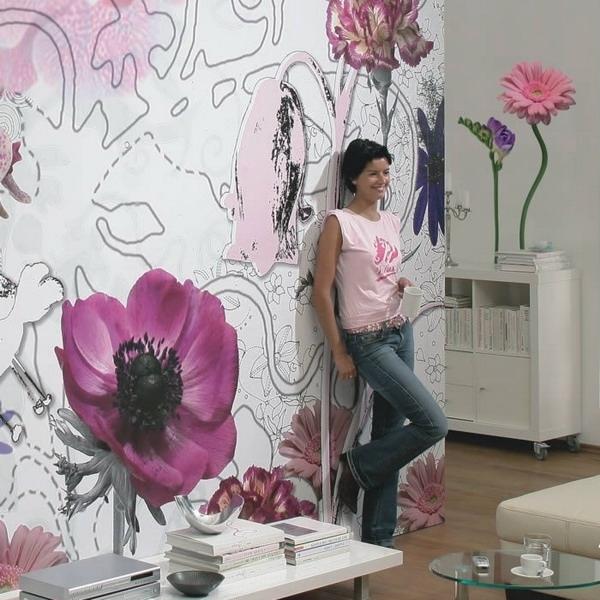 Фотообои на стену фото цветы