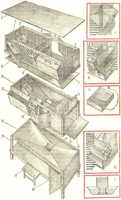 конструктор кормушка схема - В мире животных.