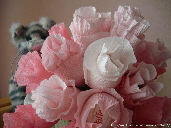 Мастер классы розы из конфет своими руками