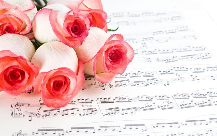 Музыка и цветы картинки 5