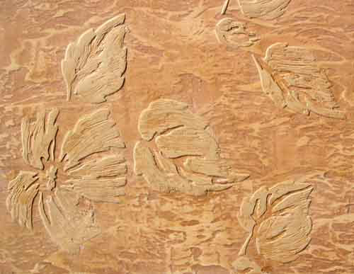 Шпаклевка стен с рисунком