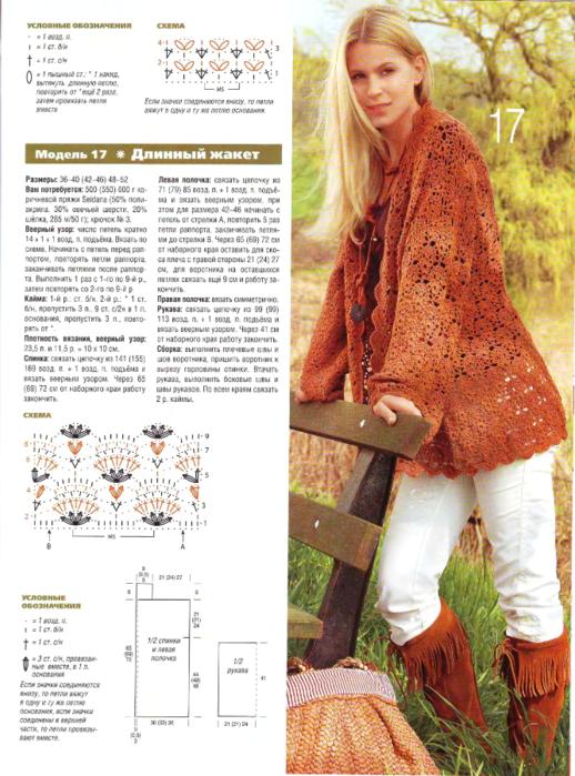 Вязание спицами кофты женские сабрина