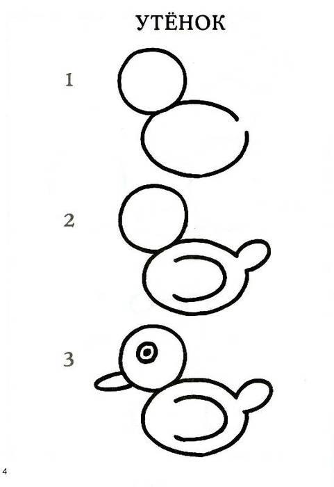 Рисунки для детей 3 6 лет