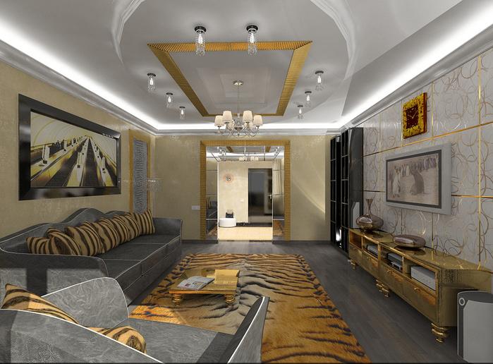 Малогабаритная гостиная дизайн фото.