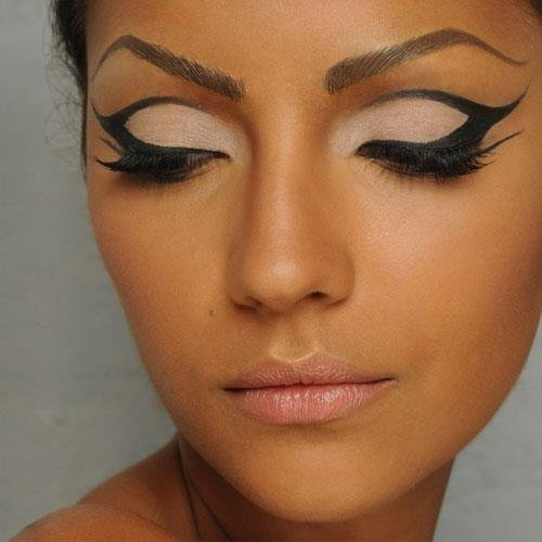Cat eyes makeup tips