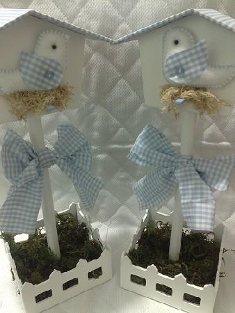 Домики - скворечники из фетра и ткани 93689678_e0__53_packed