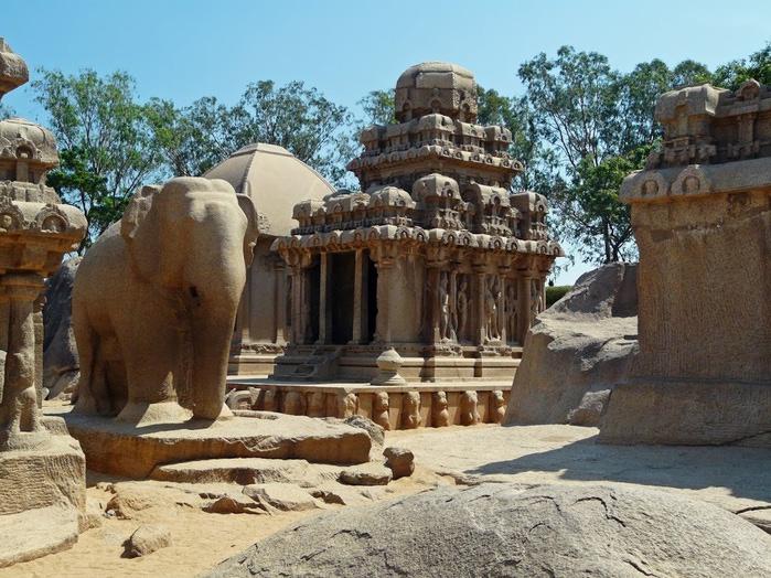 Исторический комплекс Махабалипурам 38015
