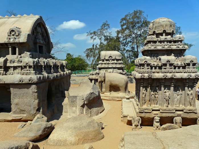 Исторический комплекс Махабалипурам 34746