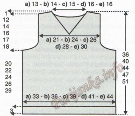 6 из 76, выкройка спинки и переда (450x389, 43Kb)