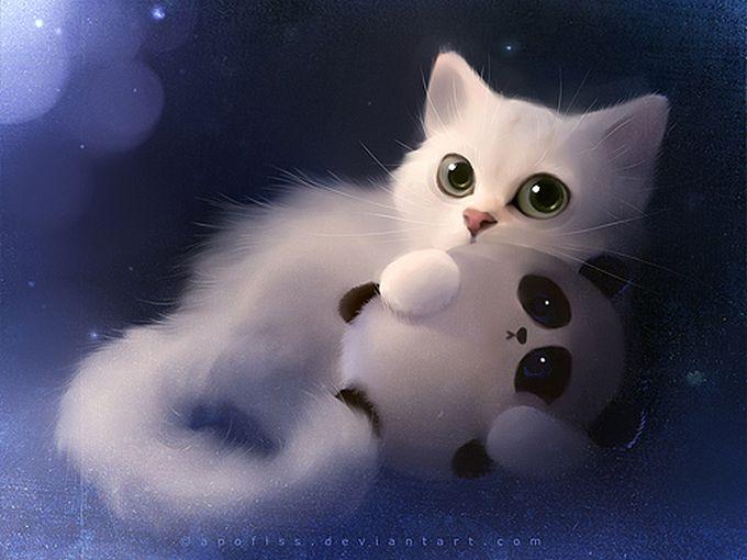 Rihards Donskis кошки картины 16 (680x510, 58Kb)