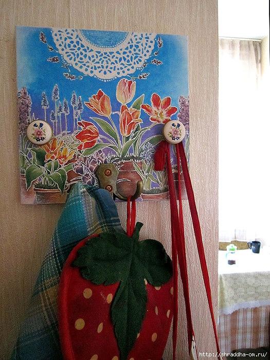 вешалка Цветы, автор Shraddha, 1 (525x700, 311Kb)
