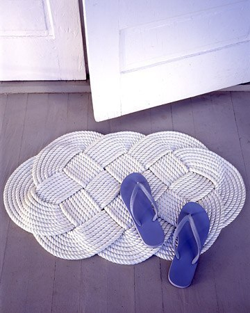 схемы плетения ковриков.