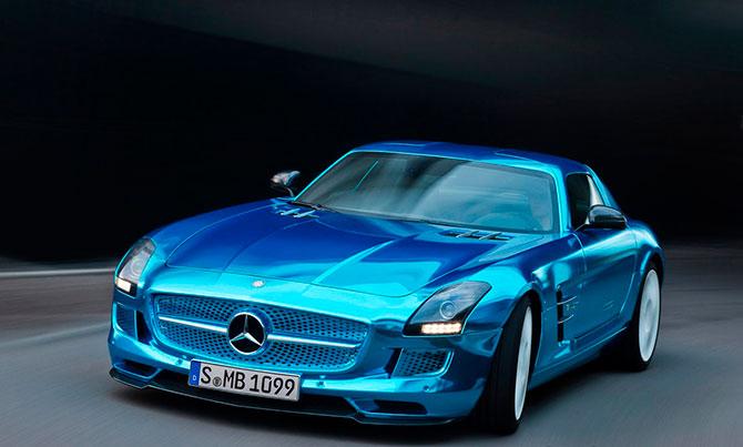 Mercedes-Benz электромобиль фото 1 (670x403, 52Kb)